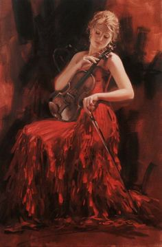 Original Painting, Intermezzo by Richard Johnson