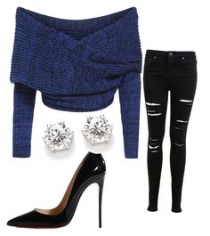 """""""Untitled #1"""" by aastha-c ❤ liked on Polyvore featuring Miss Selfridge and Christian Louboutin"""