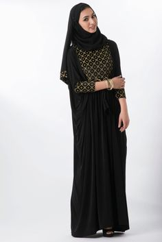 Camile Abaya – Little Black Abaya