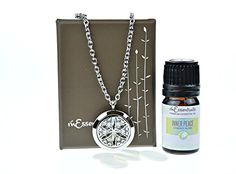 Flower of Life Stainless Steel Aromatherapy Essential Oil Diffuser Necklace Pendant Locket Jewelry Gift Set (Inner Peace 5 Ml) mEssentials http://www.amazon.com/dp/B0160BDXO2/ref=cm_sw_r_pi_dp_gm.owb1FNP091