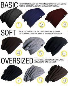 No inverno é hora de tirar toucas e gorros do armário. Veja como usar o seu acessório de cabeça.