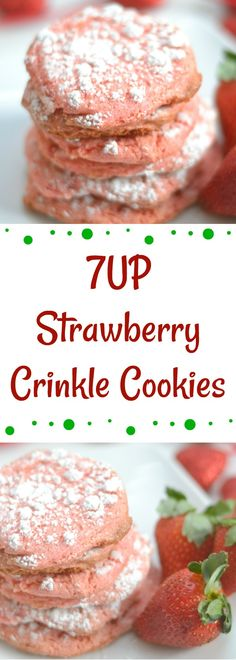 Have a fun girls' night in with soft drink infused crinkle cookies and strawberry fizz! These recipes will help make the night memorable.