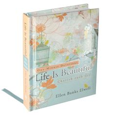 "[""This pretty little devotional is covered with a design of graceful flowers and elegant bird cages, inviting you to find a quiet place for reflection. Allow God's Word to permeate your soul through <i>One-Minute Devotions: Life is Beautiful - Cherish Each Day<\/i>, leading you to truly believe that every life is beautiful. This lovely book includes 366 devotions and has a padded cover with a ribbon marker, making it perfect for giving as a gift to someone special. <br><br><b>Product…"