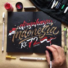 """""""Dirgahayu Indonesia Ke 72 Tahun🇮🇩"""" . . Harapan dan doa terbaiku untukmu negeriku. MERDEKA !!! #merdekaligrafina Class Design, Ad Design, Save Earth Drawing, Indonesian Independence, Independence Day Poster, Earth Drawings, Indonesian Art, Ads Creative, School Notes"""