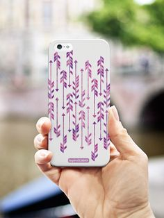 Inspired Cases Abstract Purple Arrows Case #Inspiredcases #purplearrows #phonecases