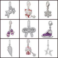 Add a bit of #Swarovski holiday sparkle to your bracelet!