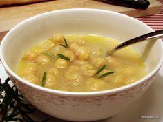 Ρεβύθια Σούπα με Δενδρολίβανο - DemiDeli - Αγαπημένες Συνταγές
