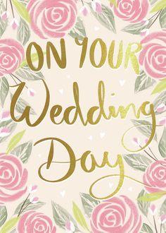 Happy Birthday Greetings Friends, Happy Birthday Art, Happy Birthday Wishes Images, Birthday Cards, Wedding Day Wishes, Wedding Day Cards, Greeting Card Companies, Greeting Cards, Birthday Wishes Flowers