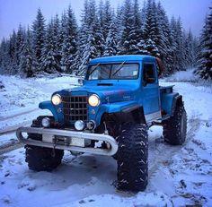 Jeeps, Trucks and Stuff! Dodge Trucks, Jeep Truck, Custom Trucks, Cool Trucks, Pickup Trucks, Cj Jeep, Jeep 4x4, Jeep Pickup, Old Pickup