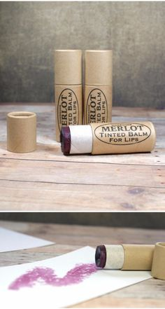 This easy to make merlot tinted lip balm recipe creates a super moisturizing tinted lip balm for lips that look and feel fabulous! Create your own tinted lip balm in custom colors for your own personal style or give my fun and flattering merlot tinted lip balm recipe a try as is for a beautiful look perfect for parties or everyday wear. Even better, these DIY merlot lip tints make lovely DIY Valentine's Day gifts!
