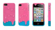Melting Ice-cream theme iPhone Case