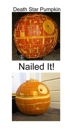 haha. It looks like my attempt at pumpkin carving.