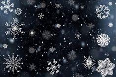 Schneeflocke, Schnee, Schneefall, Winter, Kälte, Eisig