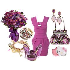 Beyond girly, created by pezgrlpatty.polyvore.com