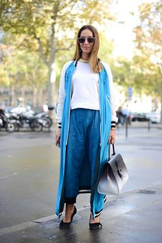 awesome Street Style - Paris Fashion Week, Womenswear S/S 2015 : September 25th Check more at http://oddstuffmagazine.com/street-style-paris-fashion-week-womenswear-ss-2015-september-25th.html