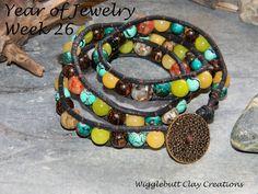 The Wigglebutt Blog ~ Year of Jewelry Project ~ Wrap Bracelet