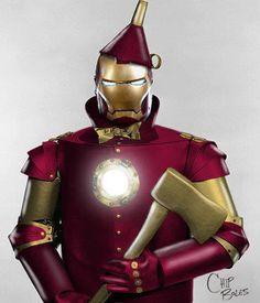 Iron-alloy man?