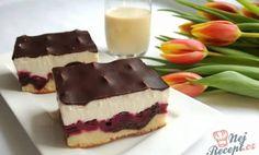 Višňové řezy s krémem - Magnilo Cheesecake, Pudding, Recipes, Food, Cheesecakes, Custard Pudding, Essen, Puddings, Eten