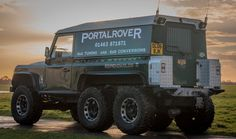LAND ROVER DEFENDER 6x6 Custom Built for Expendables 2 Movie