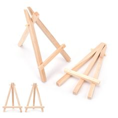 JETTING 1Pcs Mini Wooden Art Holder Artwork Display Table-Top Easels Drawing Boards 12*6cm HOT SALE