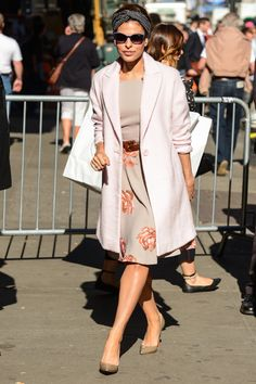 The Styling Tricks We're Stealing from Celebrities This Summer - Eva Mendes from InStyle.com