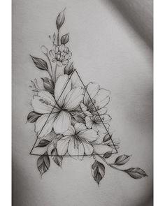 Fun piece for a traveller 🌿🌸 Dreieckiges Tattoos, Love Tattoos, Body Art Tattoos, Small Tattoos, White Tattoos, Ankle Tattoos, Arrow Tattoos, Tiny Tattoo, Music Tattoos