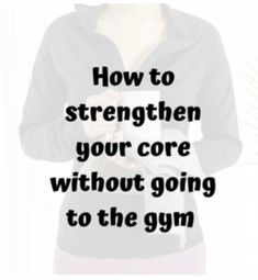 Going To The Gym, Core, Fitness