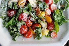 mess of greens: southern food & hospitality: BLT salad