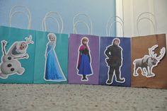 Disney Frozen Goody Bags by GOODYBAGSBYKRIZIA on Etsy, $19.00