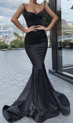 long black mermaid prom dresses 2020 sexy
