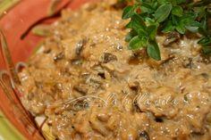 Risotto with Porcini Mushrooms and Mascarpone Cheese - la bella vita cucina