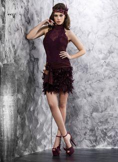 4417 (Vestido de Fiesta). Diseñador: Valerio Luna. ...