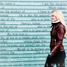 the story of Emma Swan Once Upon A Time Funny, Once Up A Time, Killian Jones, Emma Swan, Best Tv Shows, Best Shows Ever, Shows On Netflix, Movies And Tv Shows, Ouat