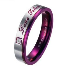 Promise rings...In all different  colors