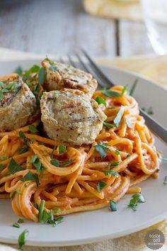 Recipe for Creamy One Pot Spaghetti