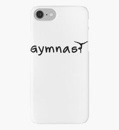 Gymnast, Gymnastic, Dance iPhone Case/Skin