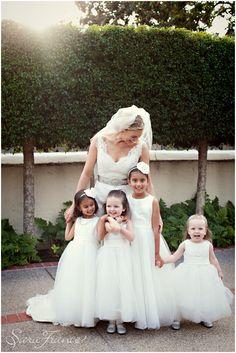 Inn_at_Rancho_Santa_Fe_Wedding ~SARA FRANCE PHOTOGRAPHY~ Wedding. Bride. Flower Girls. Beautiful. Cute. Adorable. Children.