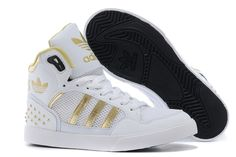 2014 New Adidas high-top shoes for women blue white yellow on sale ...