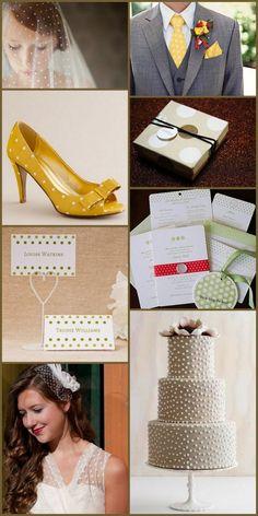Seeing Spots - Polka Dot Wedding - It's a Bride's Life - Miss Detailed Bride - David Tutera - Wedding Blog