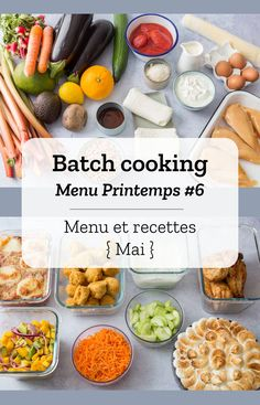 printemps cooking semaine batch avril 2019 mai du 29 au 6 3 Batch cooking Printemps Semaine du 29 avril au 3 mai can find How to cook chicken on grill and more on our website Vegetarian Chili Crock Pot, Vegetarian Recipes Dinner, Easy Healthy Recipes, Easy Meals, Diet Recipes, Chicken Lunch Recipes, Chili Mac, Batch Cooking, How To Cook Chicken
