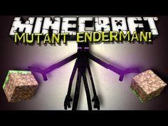 Minecraft Mods - MUTANT ENDERMAN!!!