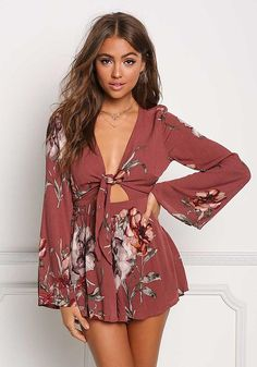 - Jumpsuits and Romper Cute Dresses, Casual Dresses, Cute Outfits, Girly Outfits, Rompers Women, Jumpsuits For Women, Daily Fashion, Girl Fashion, Romper Outfit