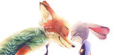 (3) 「Zootopia - Nick x Judy」/「Ichisan」のイラスト [pixiv]