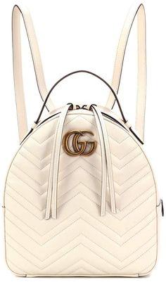 Gucci GG Marmont matelasse leather backpack Gucci Handbags b3216350534bd