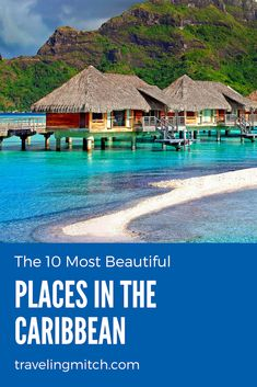 It is a rather precarious task to decide upon the most beautiful places in the Caribbean when the region itself is renowned for its breathtaking beauty, but here is my list of the ten most beautiful places in the Caribbean. Best Places To Travel, Vacation Places, Vacation Spots, Cool Places To Visit, Caribbean Culture, Caribbean Sea, Short Trip, Work Travel, Travel Around The World