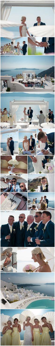 Wedding dinner reception - Jennifer and David Wedding in Santorini by Michael from Weddings-Santorini