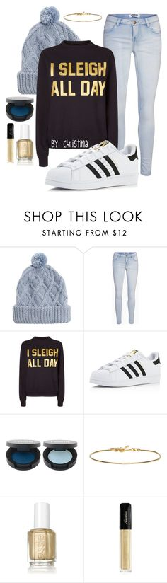 """""""Sleigh All Day"""" by christinamaryb ❤ liked on Polyvore featuring Muk Luks, Private Party, adidas, FACE Stockholm, Isabel Marant, Essie and Guerlain"""
