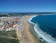 "A view from the ""sitio"" in Nazare"
