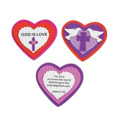 Sunday school 4 6 on pinterest sunday school sunday for Inspirational valentine crafts