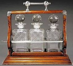 The Buzz on Antiques: IS A TANTALUS THE SAME AS A CAVE À LIQUEUR?